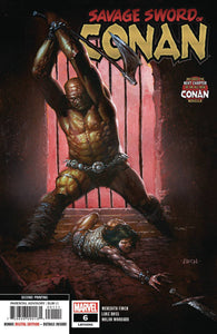 SAVAGE SWORD OF CONAN #6 2ND PTG FINCH VAR