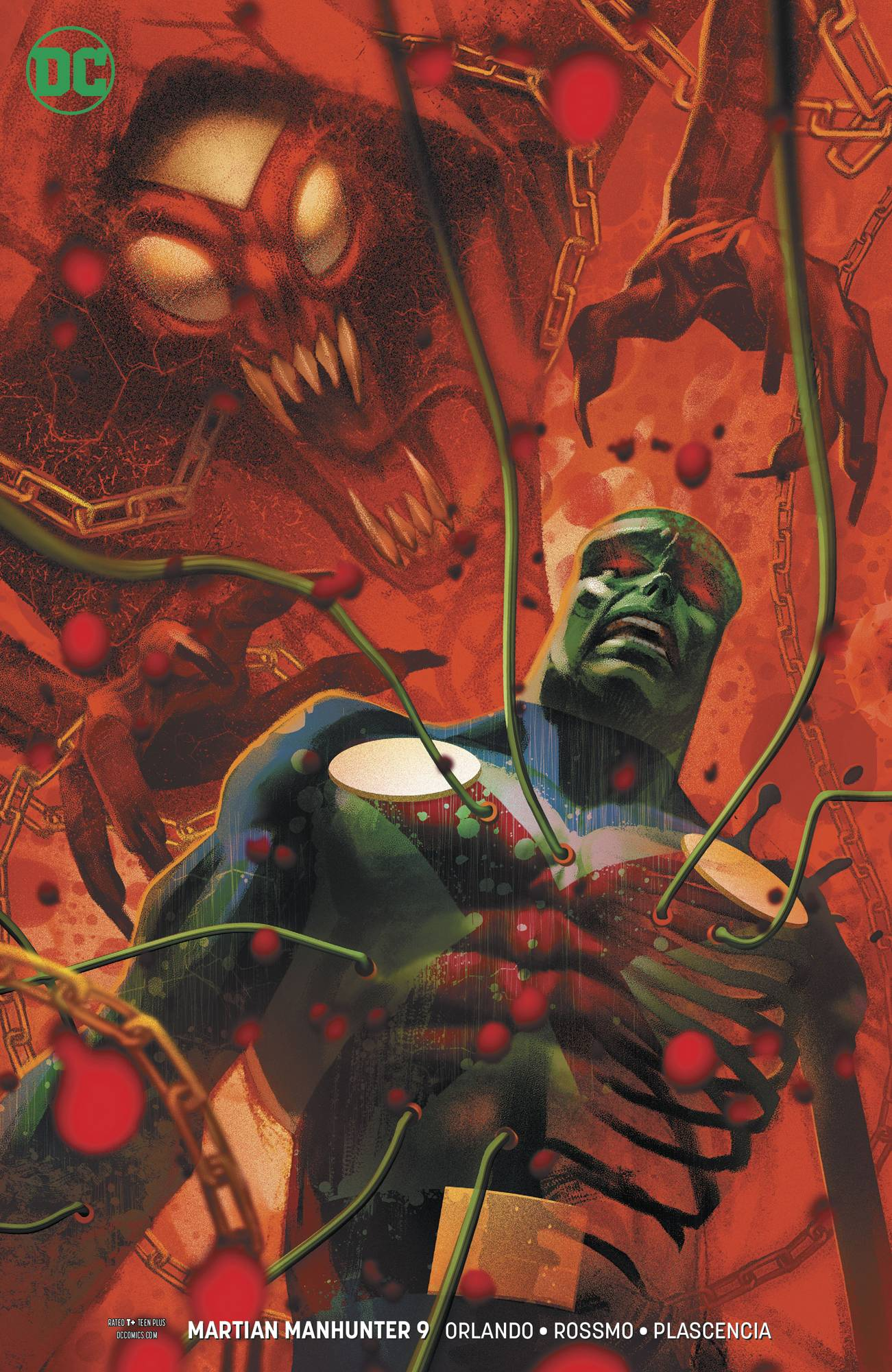 MARTIAN MANHUNTER #9 (OF 12) VAR ED