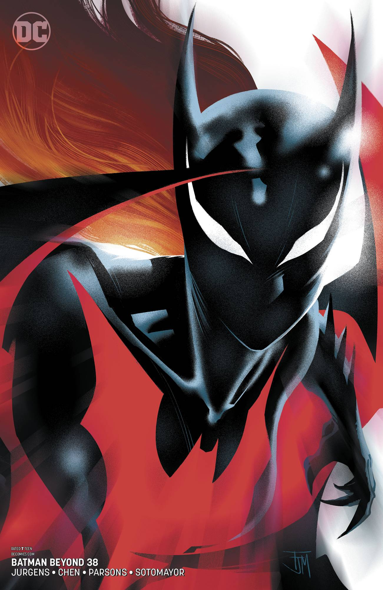 BATMAN BEYOND #38 VAR ED