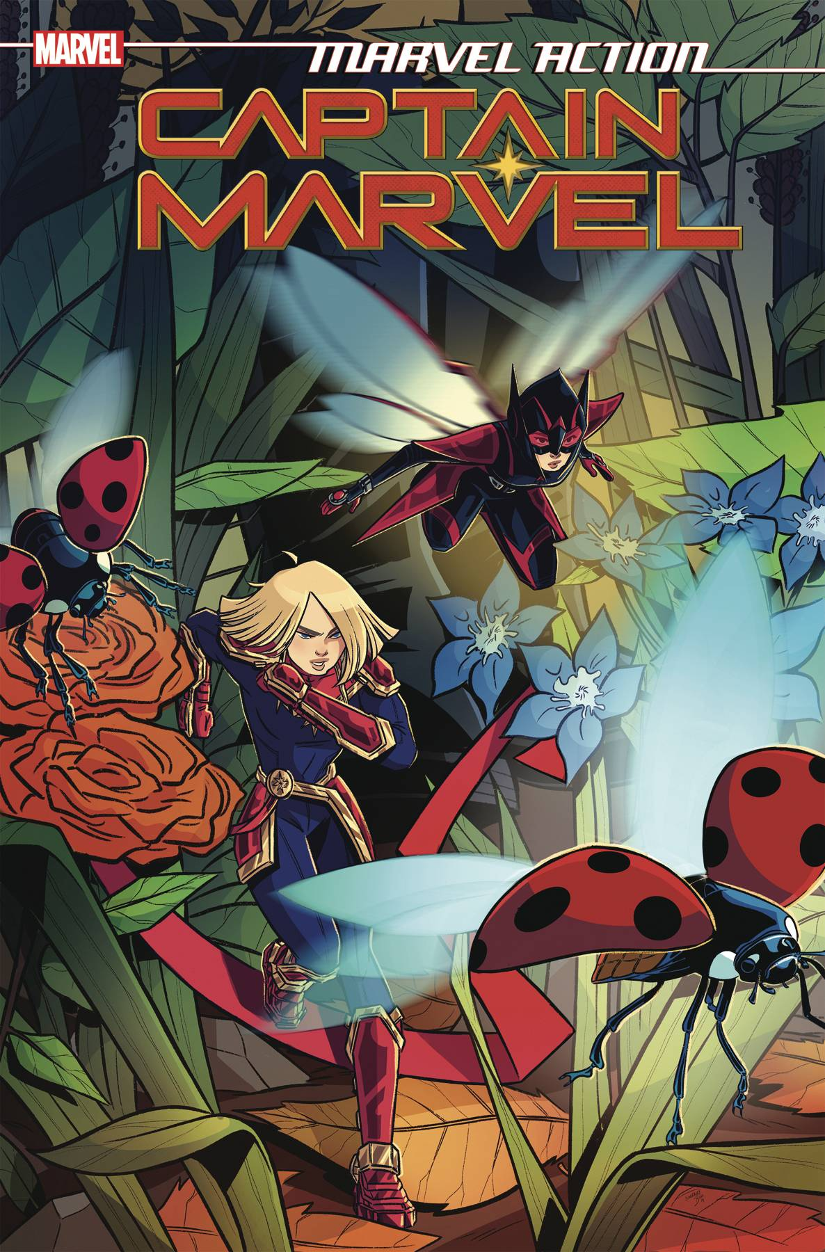MARVEL ACTION CAPTAIN MARVEL #5 CVR A BOO (C: 1-0-0)