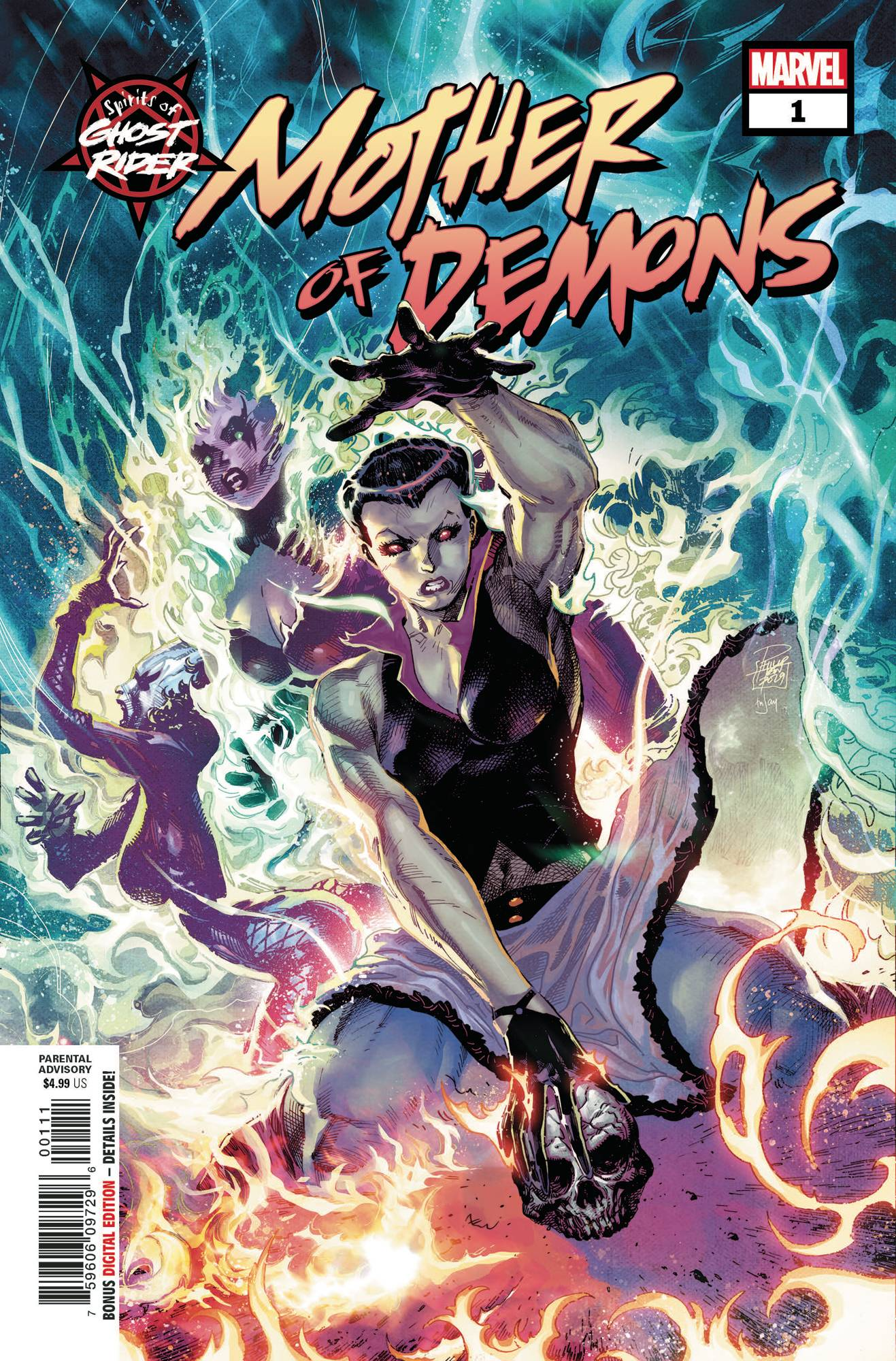SPIRITS GHOST RIDER MOTHER OF DEMONS #1