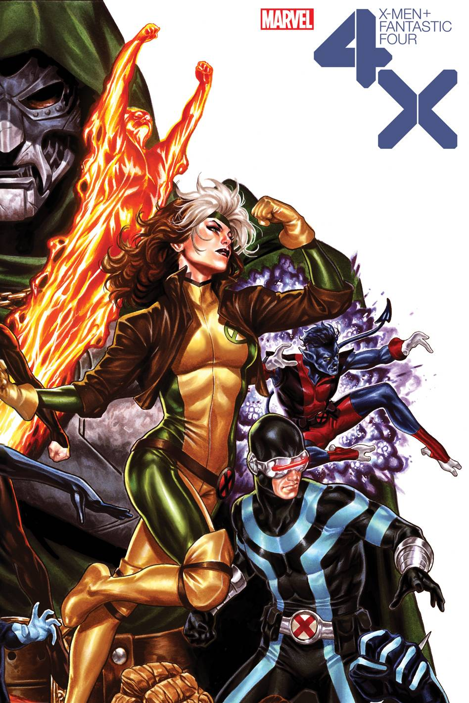 X-MEN FANTASTIC FOUR #2 (OF 4) BROOKS VAR