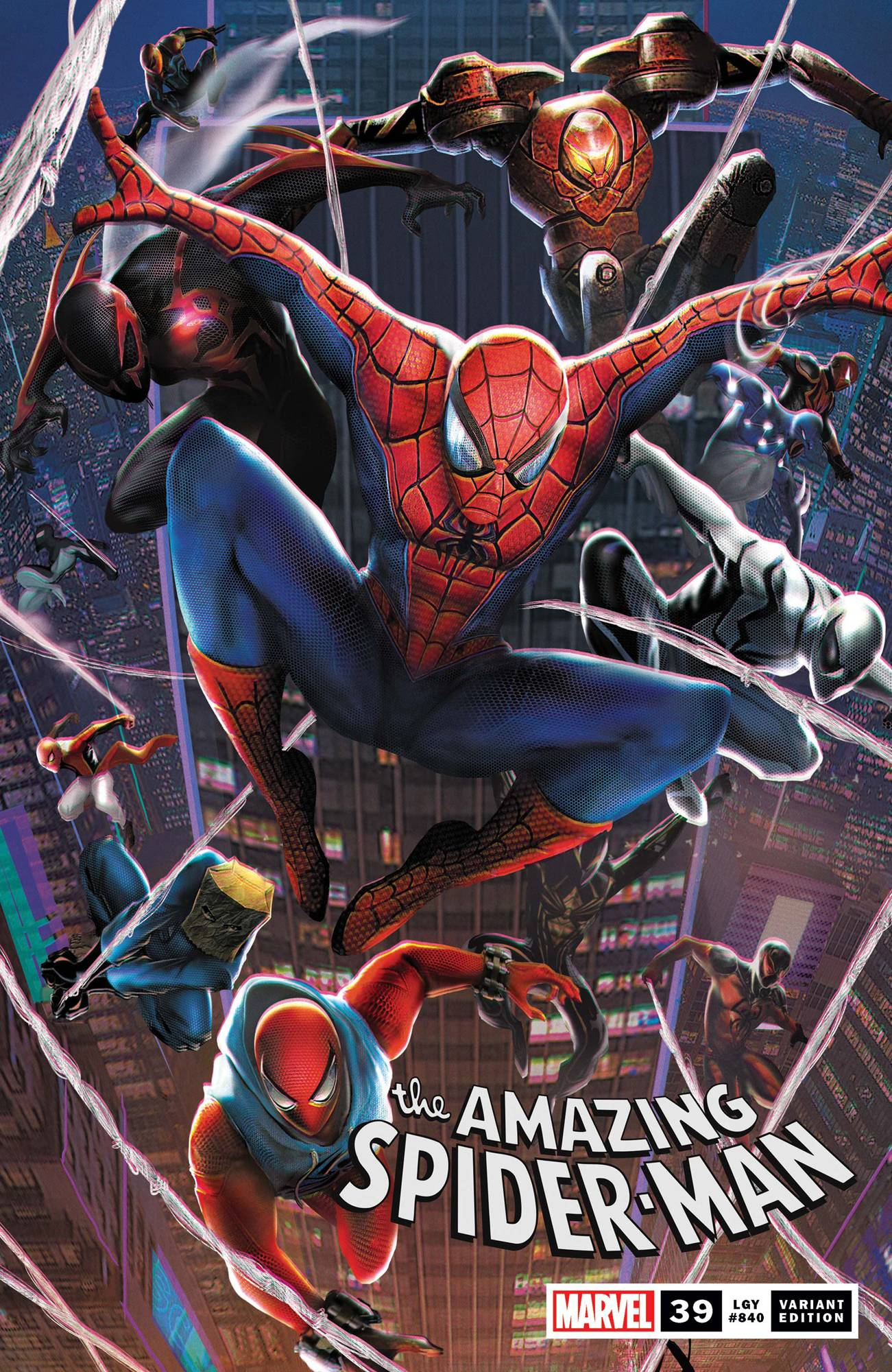 AMAZING SPIDER-MAN #39 JIE YUAN CONNECTING CHINESE NEW YEAR