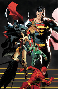 JUSTICE LEAGUE #45 DAN MORA VAR ED