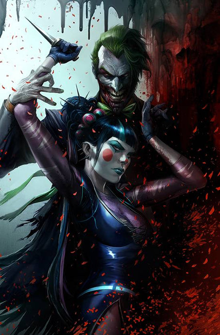 BATMAN #94 CARD STOCK FRANCESCO MATTINA VAR ED