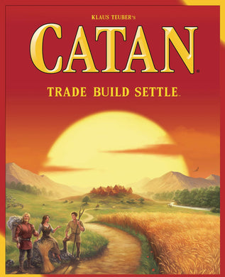 CATAN BOARD GAME (Net) (C: 0-1-2)