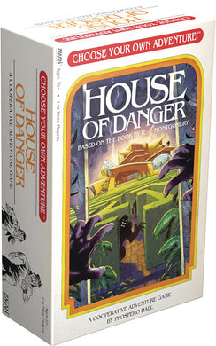 CHOOSE YOUR OWN ADVENTURE HOUSE OF DANGER GAME (Net) (C: 0-1