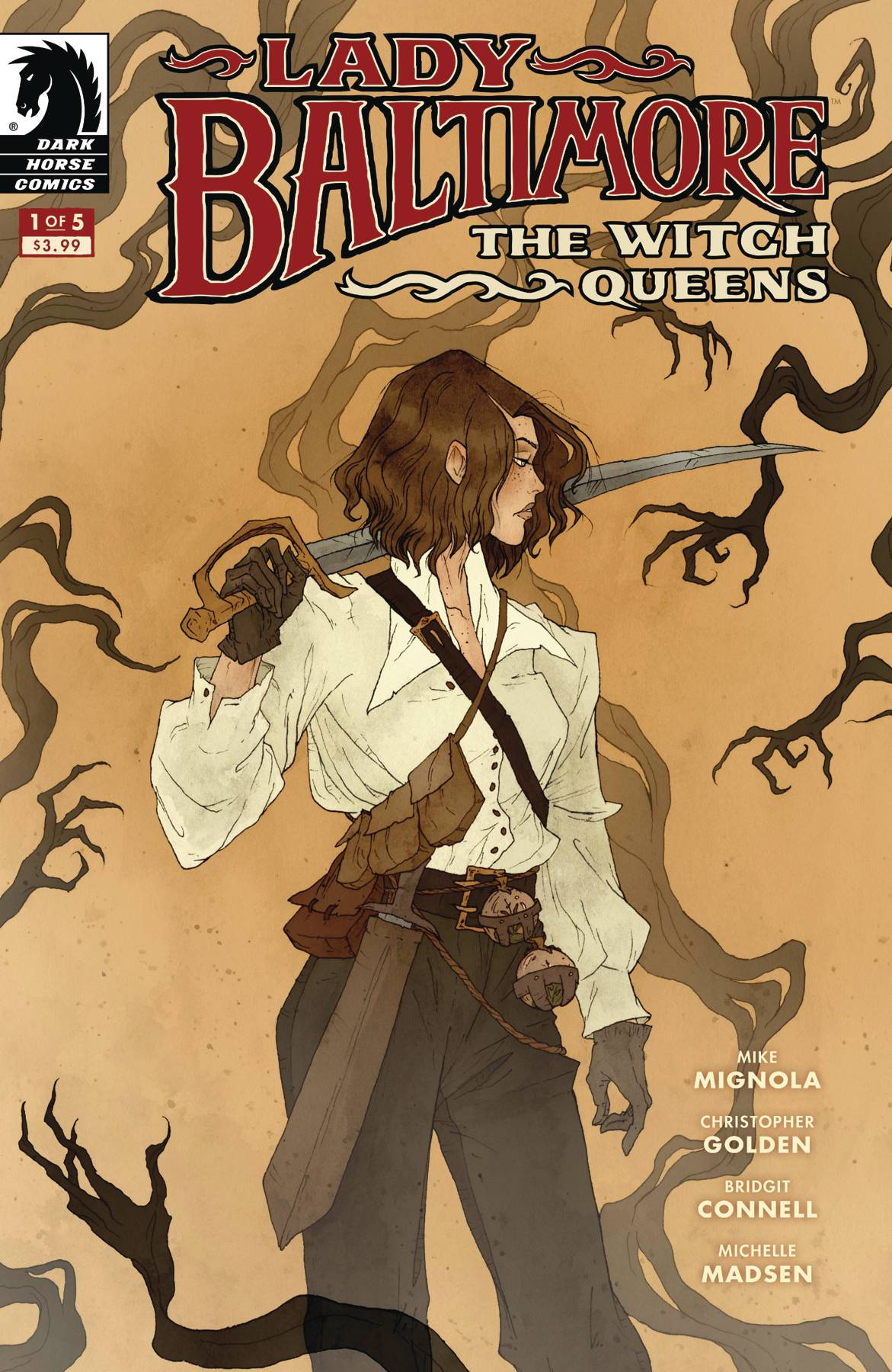 LADY BALTIMORE WITCH QUEENS #1 (OF 5) (RES). - Linebreakers