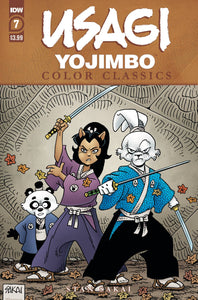 USAGI YOJIMBO COLOR CLASSICS #7 (OF 7)