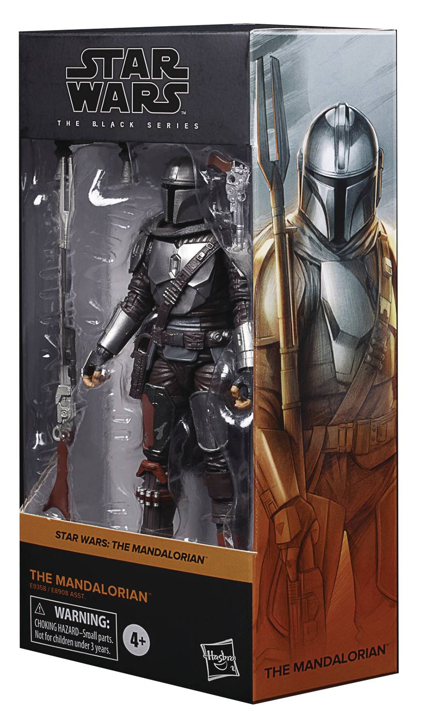 SW BLACK 6IN MANDALORIAN V2 AF CS (Net) (C: 1-1-2)