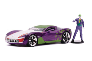 DC 1969 CORVETTE STINGRAY CONCEPT W/JOKER 1/24 VEHICLE ^