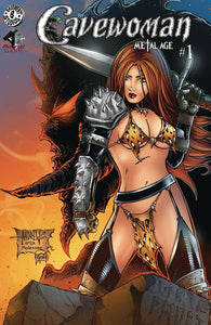^CAVEWOMAN METAL AGE #1 (OF 2) CVR B MANGUM (MR) (C: 0-
