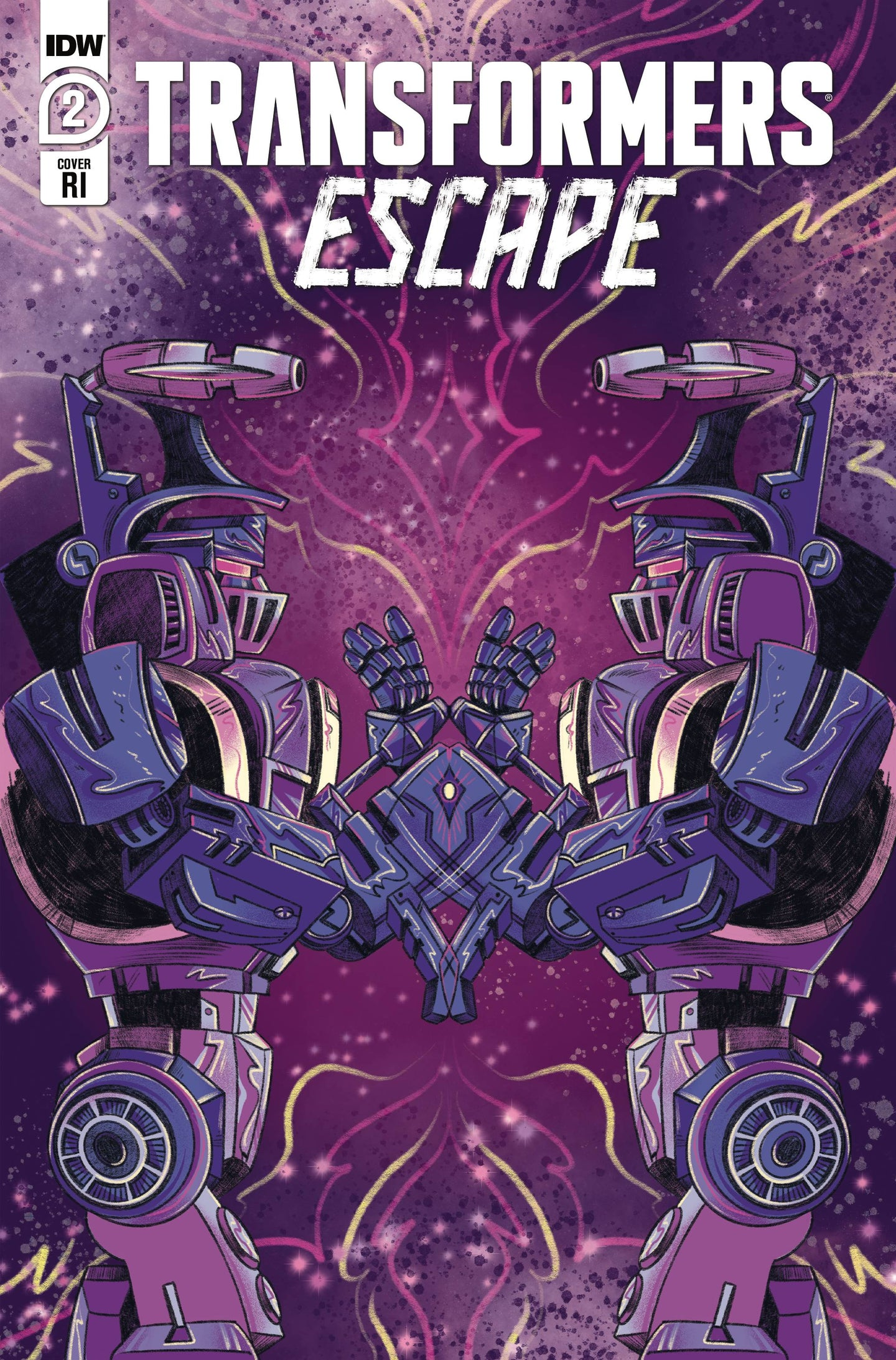 TRANSFORMERS ESCAPE #2 (OF 5) 1:10 RATIO NICOLE GOUX VARIANT CVR^