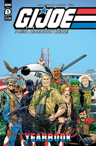 GI JOE A REAL AMERICAN HERO YEARBOOK #1^