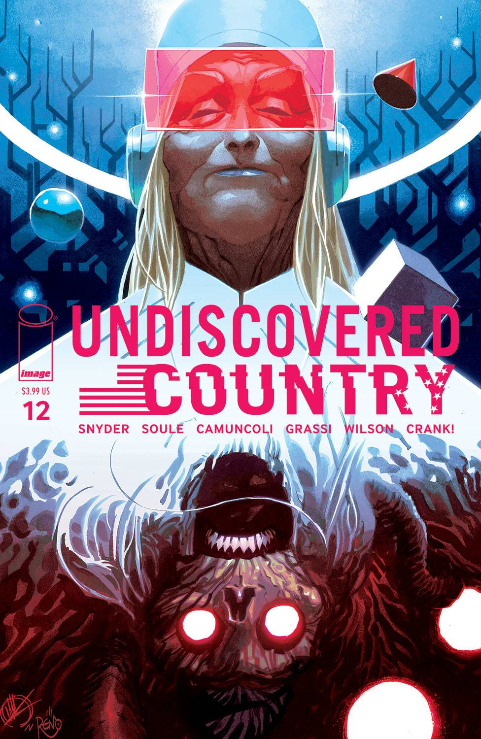 UNDISCOVERED COUNTRY #12 CVR B SCALERA (MR)^