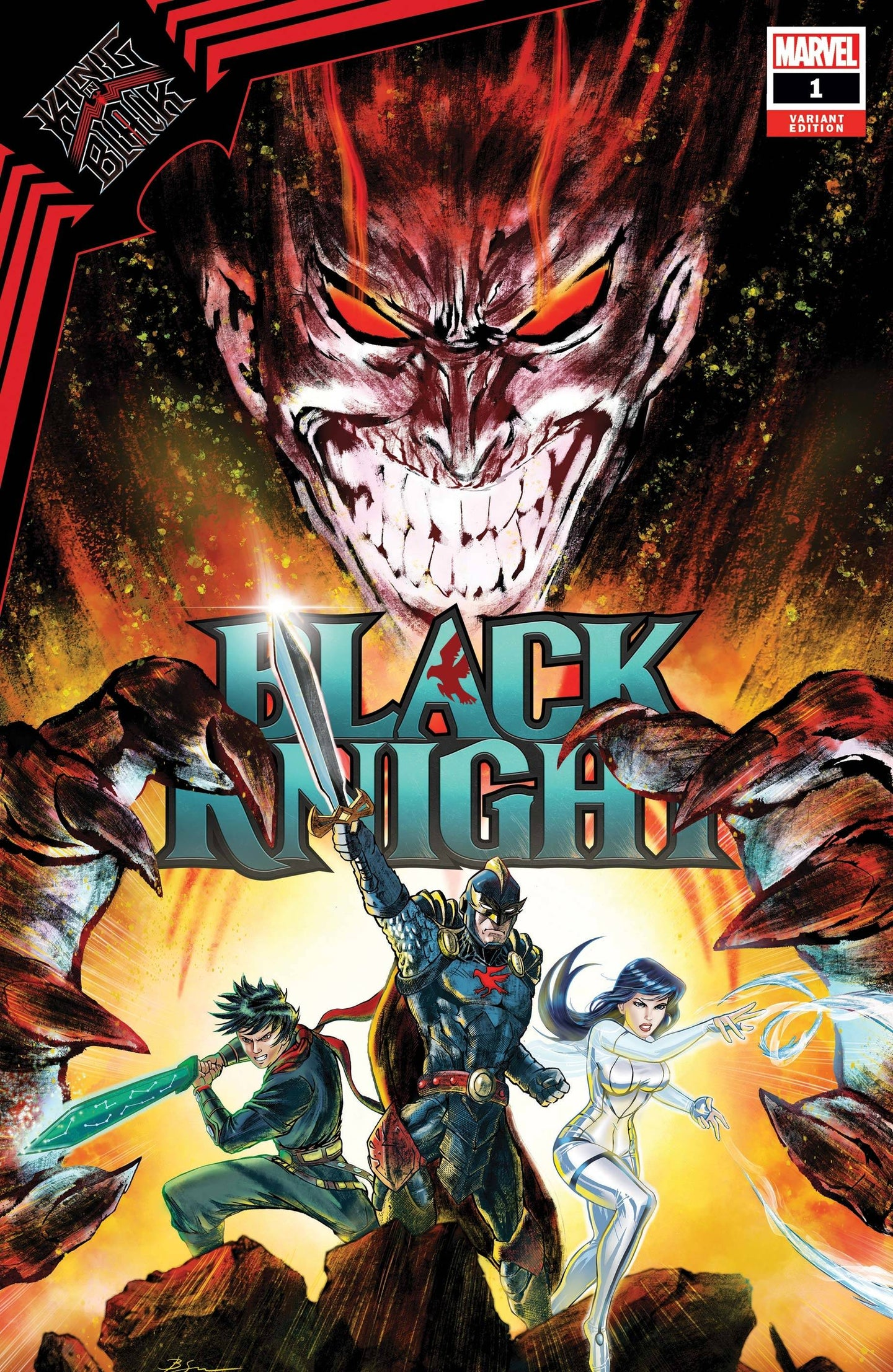 ^KING IN BLACK BLACK KNIGHT #1 SU VAR