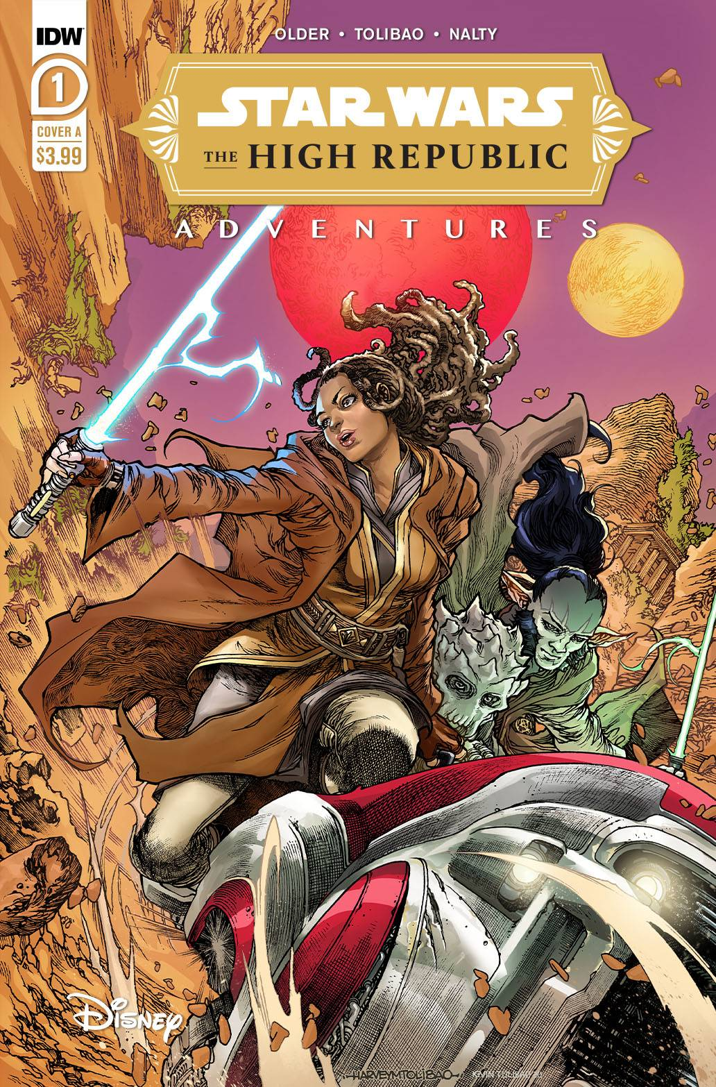 ^STAR WARS HIGH REPUBLIC ADVENTURES #1 (C: 1-0-0)