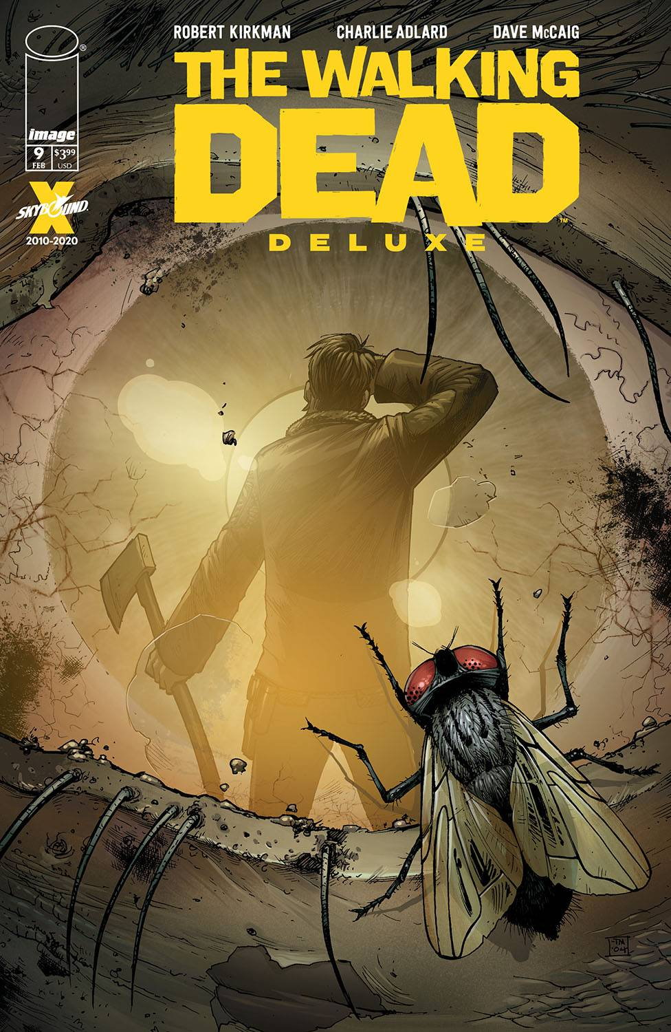 WALKING DEAD DLX #9 CVR B MOORE & MCCAIG (MR)