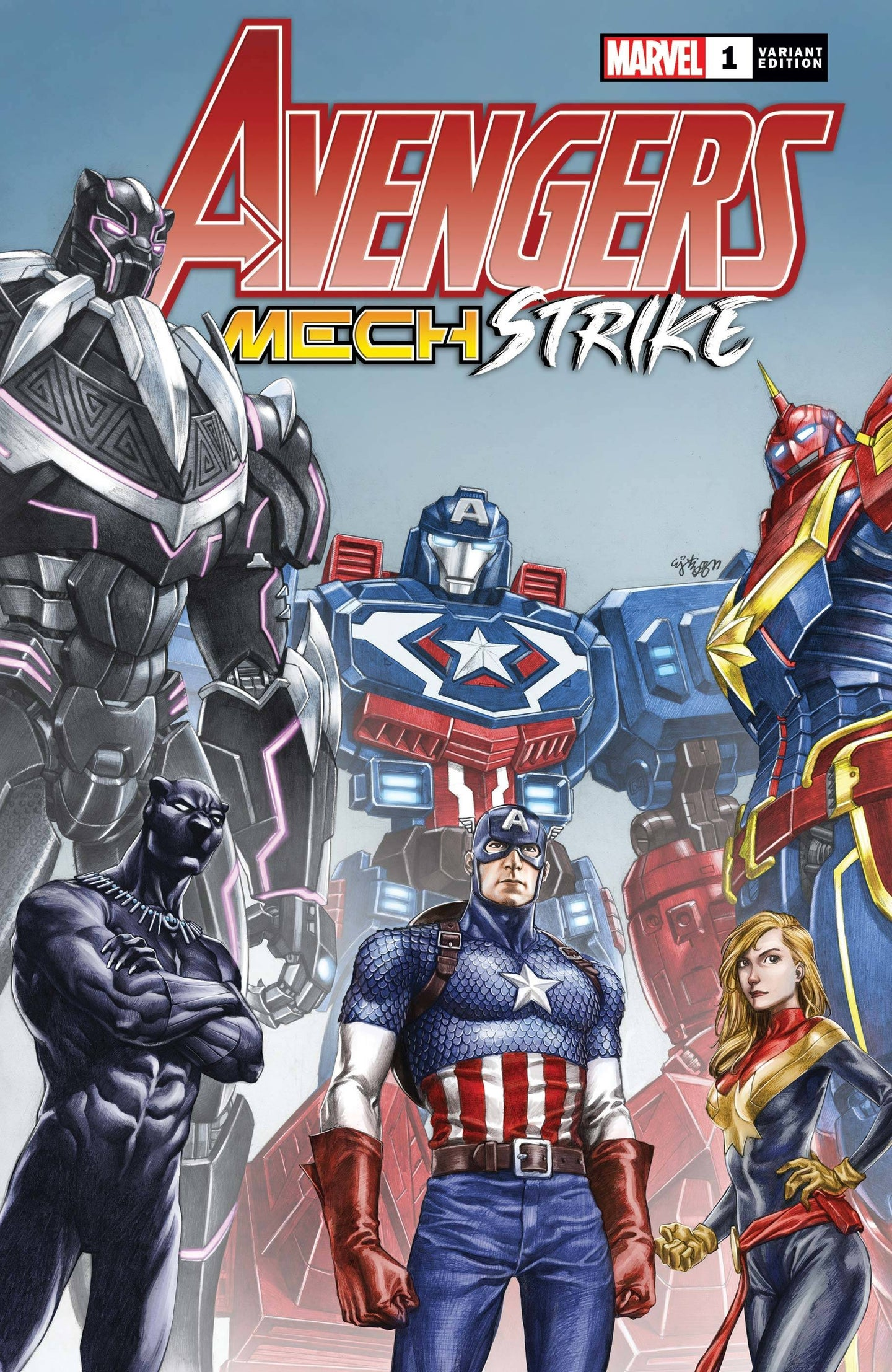 ^AVENGERS MECH STRIKE #1 (OF 5) SU VAR