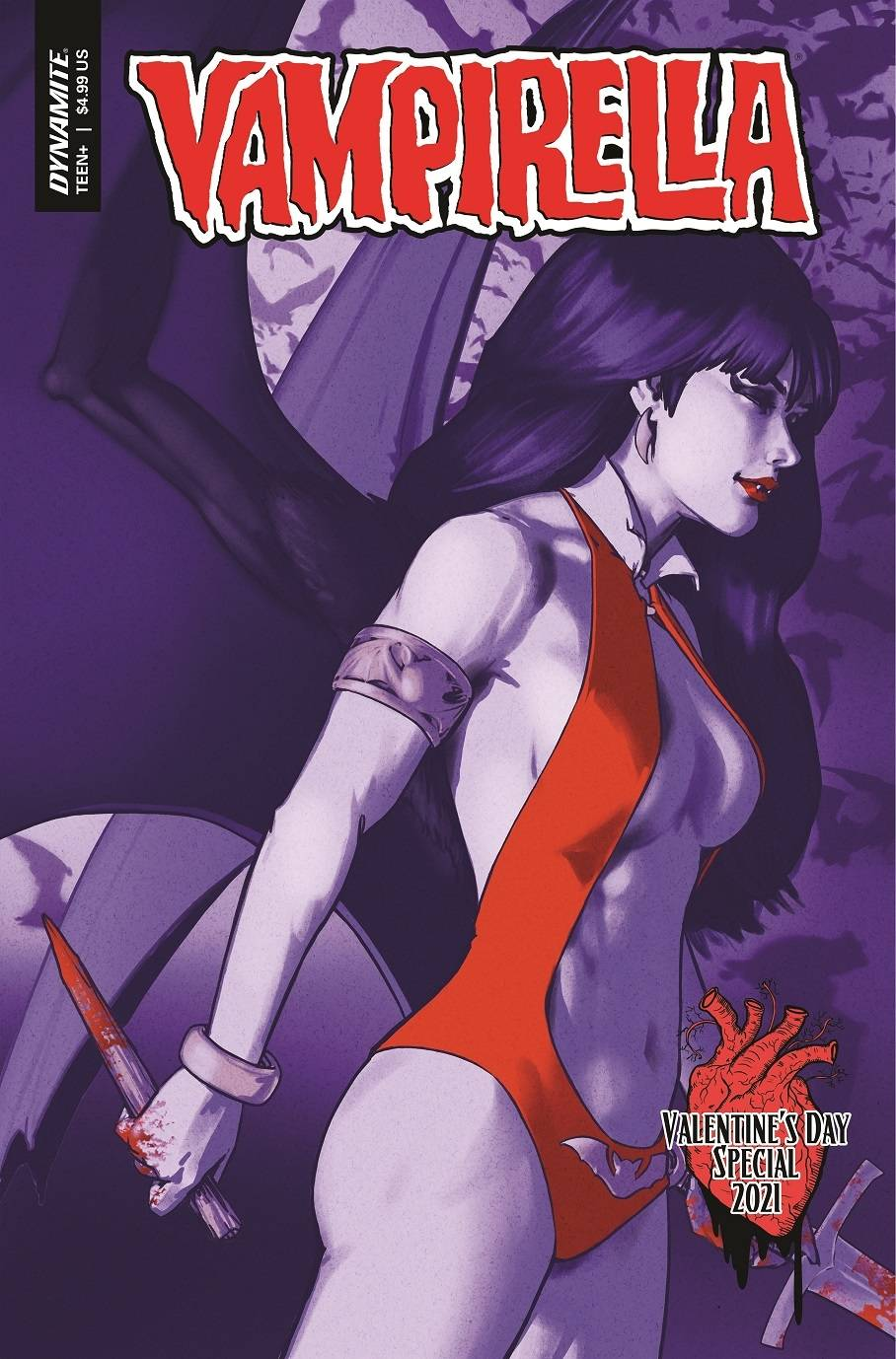 ^VAMPIRELLA VALENTINES SP ONE SHOT CVR B HA