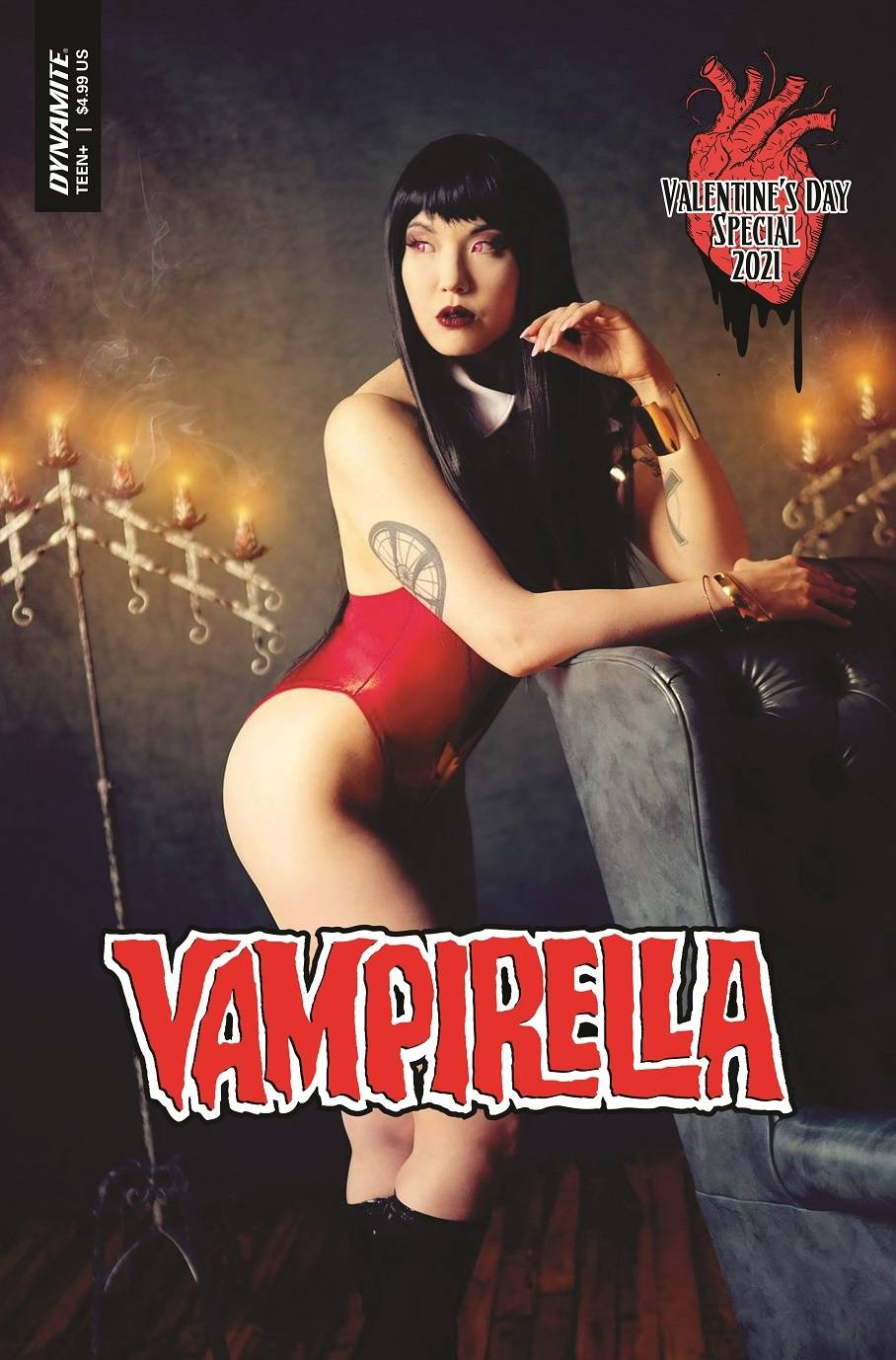 ^VAMPIRELLA VALENTINES SP ONE SHOT CVR C COSPLAY