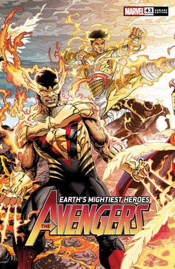 AVENGERS #43 WEAVER CONNECTING VAR,