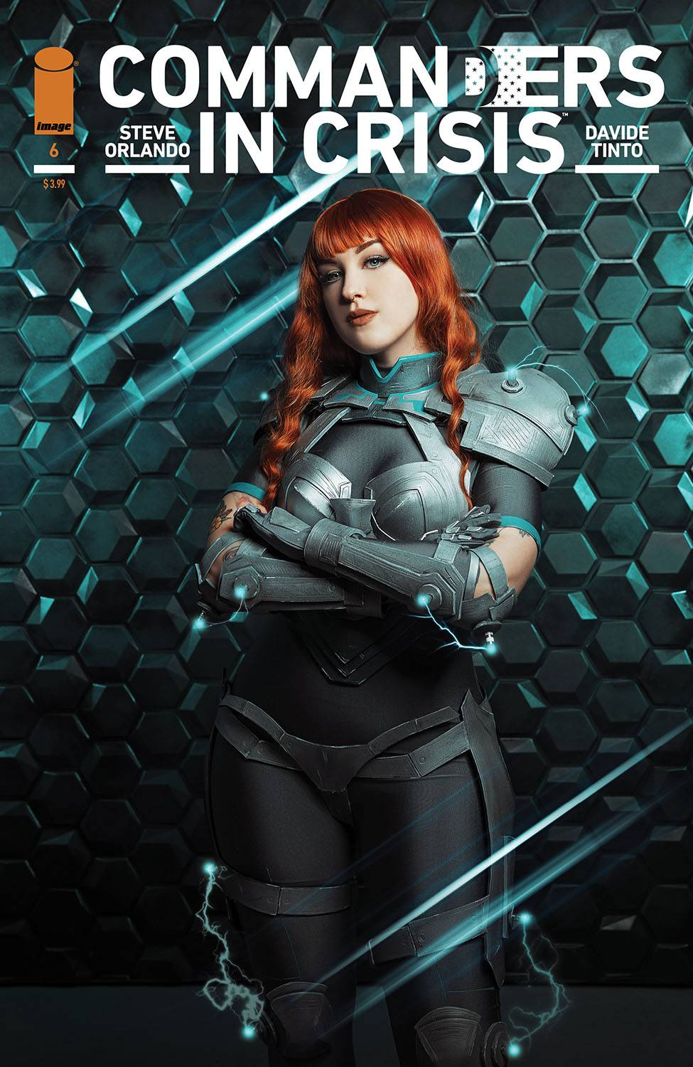 COMMANDERS IN CRISIS #6 (OF 12) CVR C COSPLAY PHOTO CVR (MR). - Linebreakers
