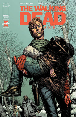 WALKING DEAD DLX #10 CVR A FINCH & MCCAIG (MR),