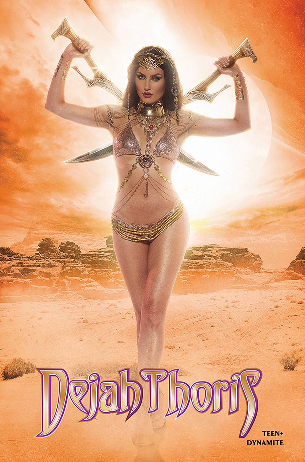 DEJAH THORIS WINTERS END ONE SHOT CVR D NEVA COSPLAY. - Linebreakers