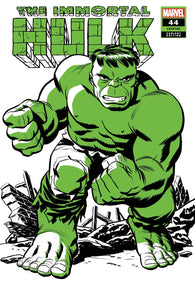 IMMORTAL HULK #44 MICHAEL CHO HULK TWO-TONE VAR. - Linebreakers