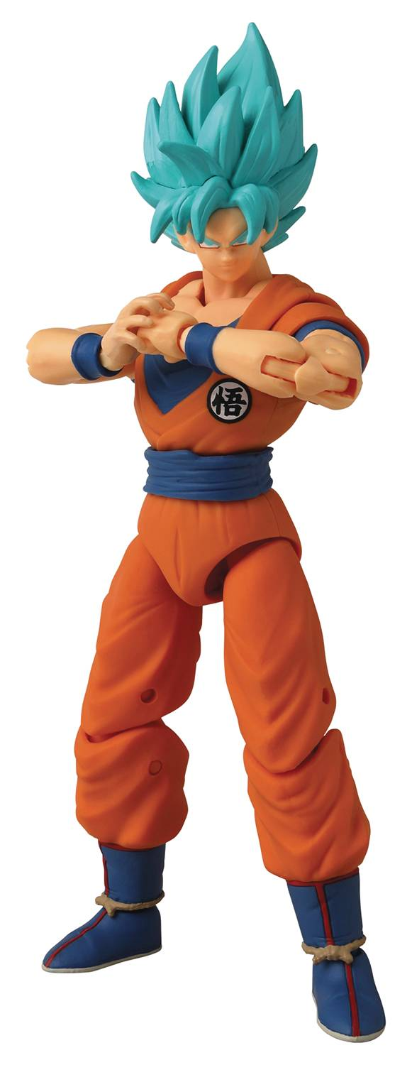 DRAGON BALL SUPER DRAGON STARS SS BLUE GOKU VER2 6.5 IN AF^