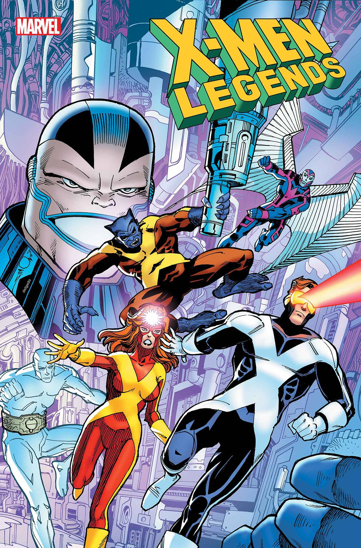 X-MEN LEGENDS #3. - Linebreakers
