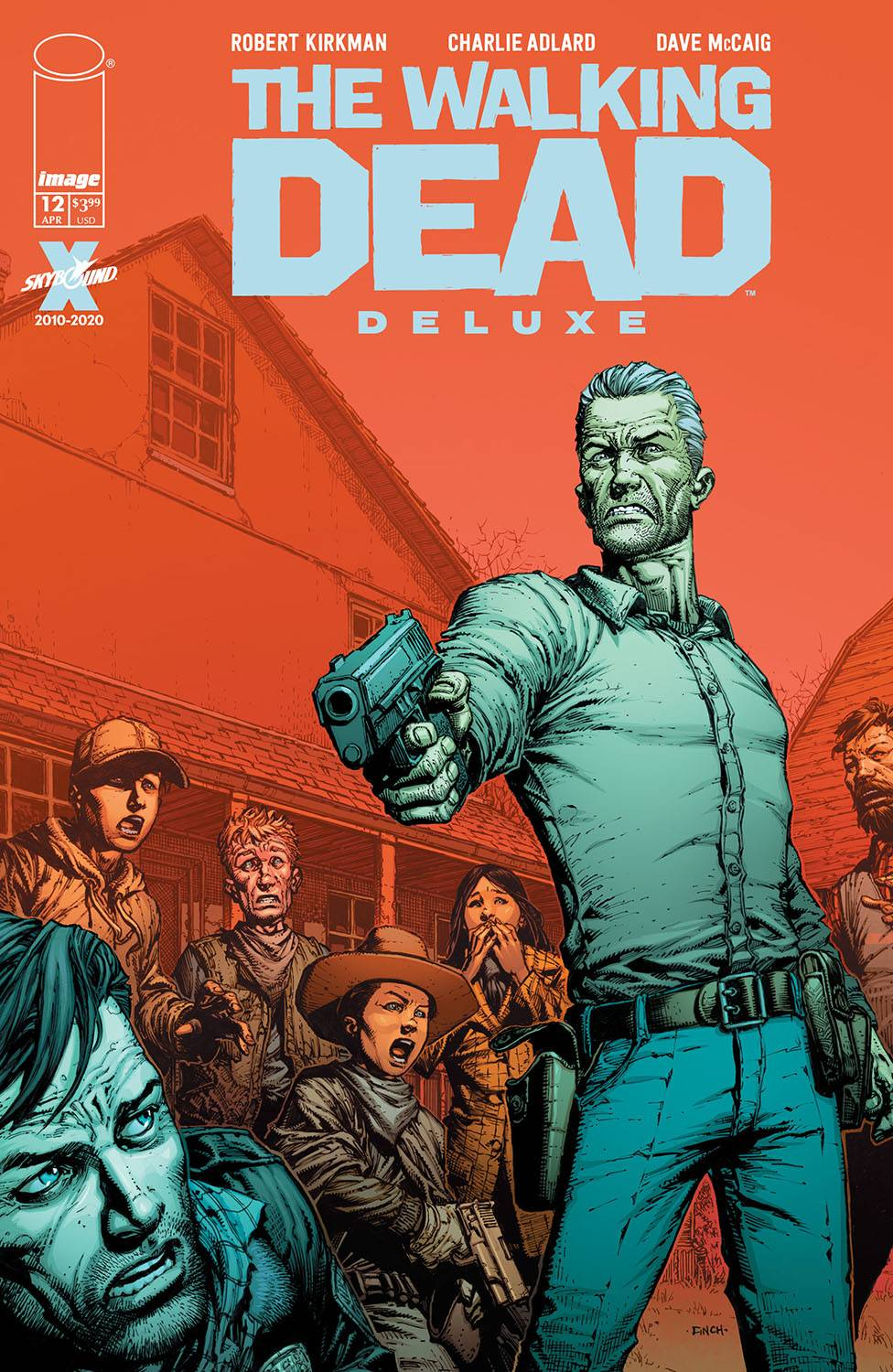 WALKING DEAD DLX #12 CVR A FINCH & MCCAIG (MR). - Linebreakers