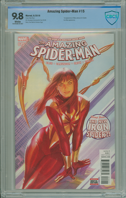 AMAZING SPIDER-MAN #15 CBCS 9.8