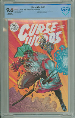 CURSE WORDS #1 25TH ANNIVERSAY BLIND BOX VARIANT CBCS 9.6