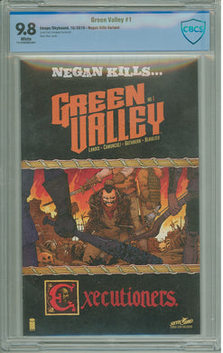 GREEN VALLEY #1 (OF 9) NEGAN KILLS VARIANT CBCS 9.8