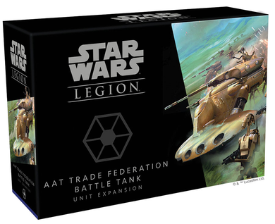 STAR WARS LEGION: - AAT Trade Federation Battle Tank Unit Expansion