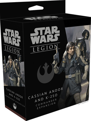STAR WARS LEGION: - Cassian Andor and K-2SO Commander Expansion