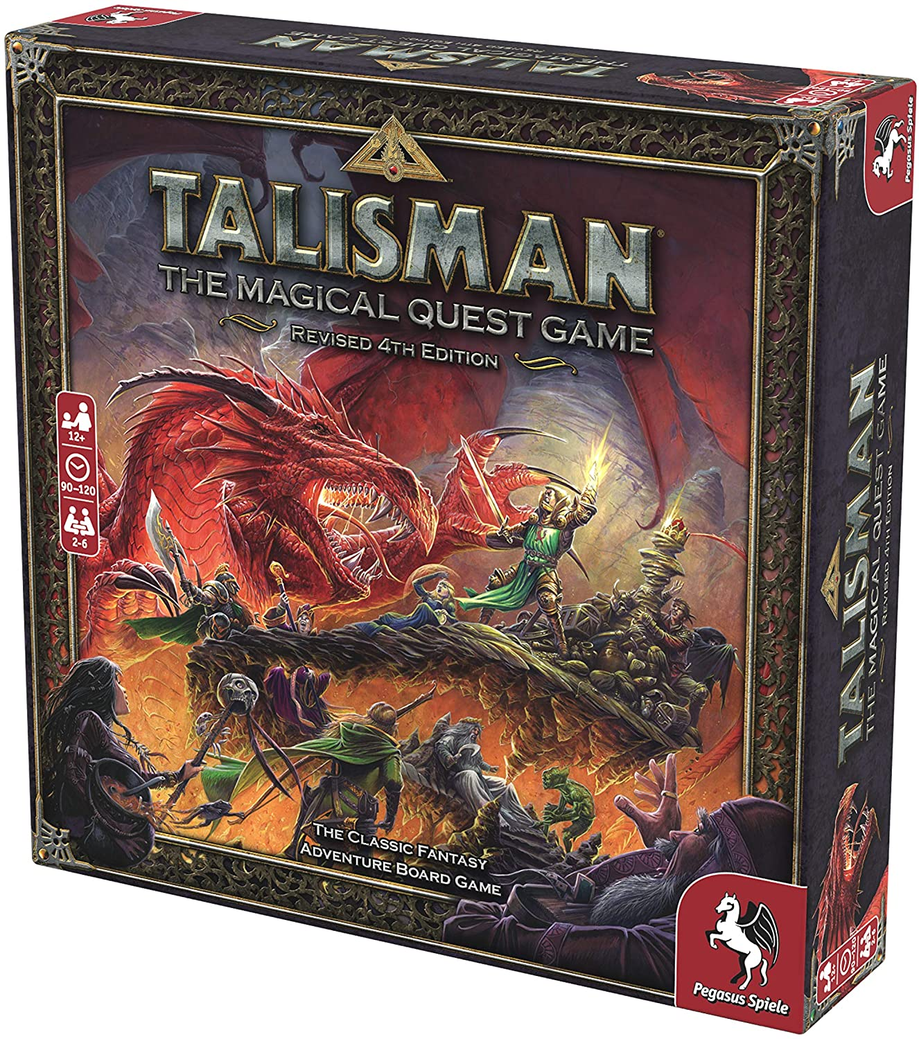 Pegasus Spiele Talisman: Revised 4th Edition, Brown - Linebreakers