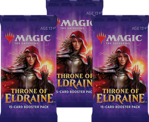 MTG TCG THRONE OF ELDRAINE BOOSTER 3PACK - Linebreakers