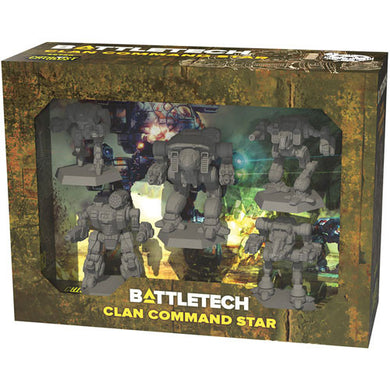 BattleTech: Miniature Force Pack - Clan Command Star - Linebreakers