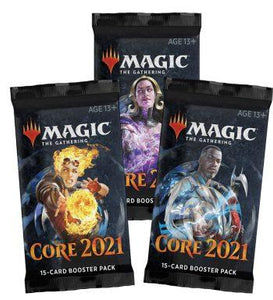 MTG Magic The Gathering Core Set 2021 (M21) Booster 3packs - Linebreakers