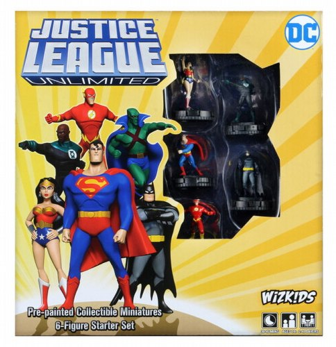 DC COMICS HEROCLIX JUSTICE LEAGUE UNLIMITED STARTER SET (C: