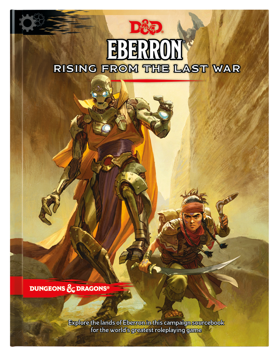 DUNGEONS & DRAGONS: Eberron Rising for the Last WAR 5E