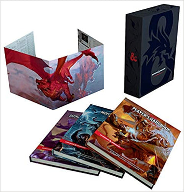 DUNGEONS & DRAGONS: Core Rulebook Gift Set 5E