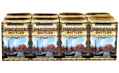 PATHFINDER BATTLES CITY LOST OMENS 8CT BOOSTER BRICK - Linebreakers