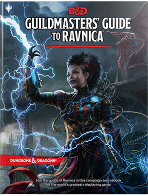 DUNGEONS & DRAGONS: Guildmasters' Guide to Ravnica 5E