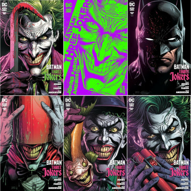 BATMAN THREE JOKERS #1 (OF 3) VARIANT BUNDLES - Linebreakers