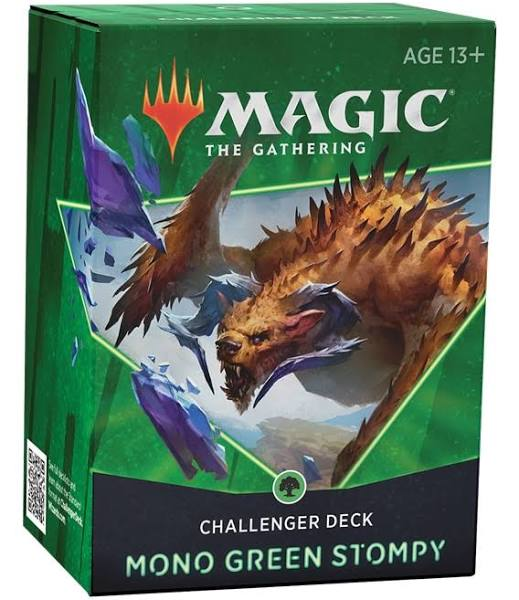 Magic The Gathering 2021 Challenger Deck – Mono Green Stompy - Linebreakers