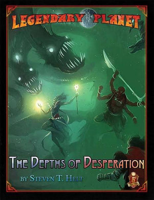 Dungeons and Dragons RPG: Legendary Planet: The Depths of Desperation